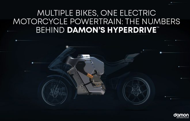 Multiple Bikes, One Electric Motorcycle Powertrain The Numbers Behind Damon's HyperDrive