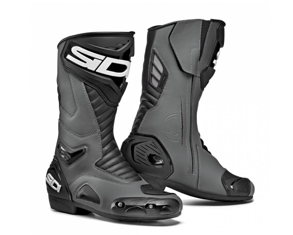 Black Sidi Perfomer Boots for advance motorcycle drivers
