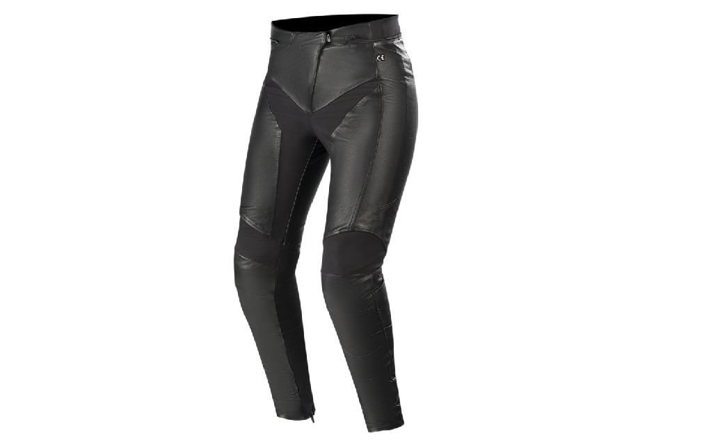 Skinny Stella Vika V2 Leather Pants for professional motorcycle female riders